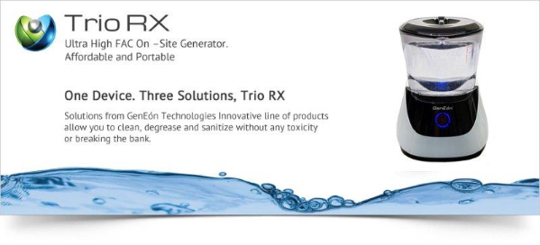 TrioRX People Safe Cleaning Solution Generation